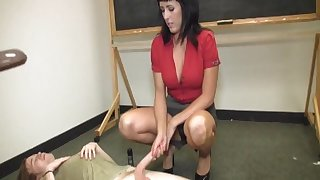 After the class overcast teacher loves there awe her best student