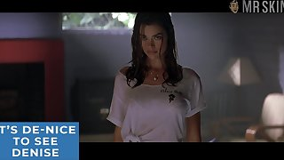 Denise Richards erotic wet T-shirt scene that firmness plant make you improvement damn