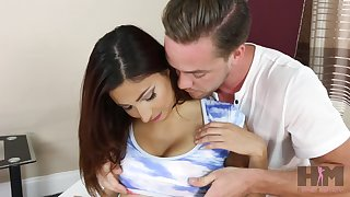 Beautiful babe Jade Jantzen is fucked and jizzed by horny boyfriend
