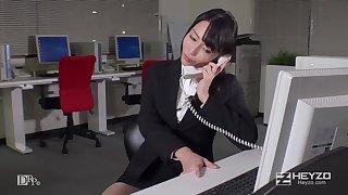 Haruka Aizawa In Sau Gio Lam Met Moi Cua Co Nang Cong So Xinh Dep