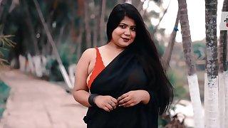 Indian saree model fraudulent in net - Big ass