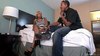 Chunky ebony lesbian fucks sexy black ass amateur Secret C. HD