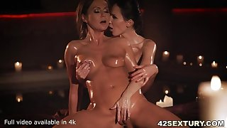 Lilu explores the Wonders of Tina's Body! - with fist