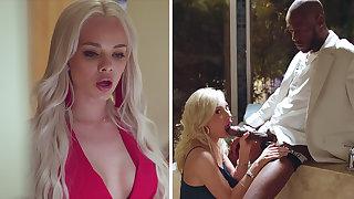 Super Hot hotties love three similar hookup with BIG BLACK Horseshit